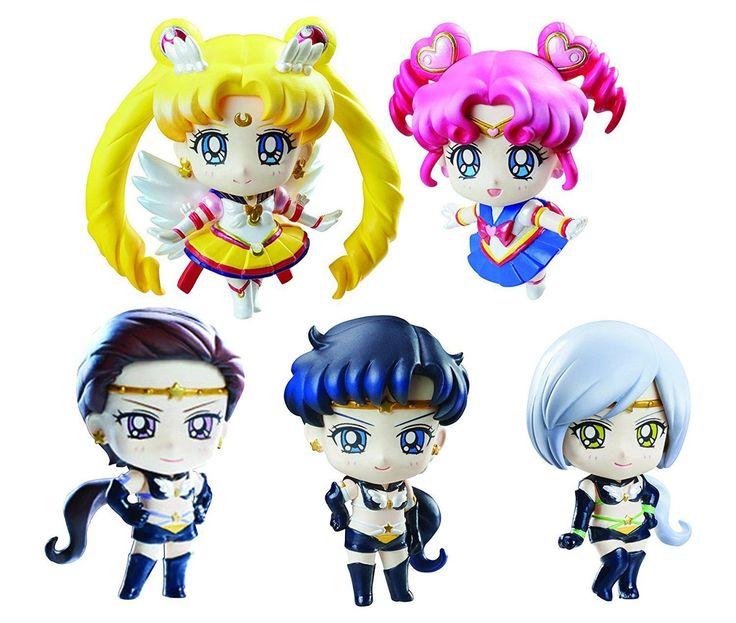 cool Sailor Moon Sailor Starlights Petit Chara Figure (Set of 5) MegaHouse