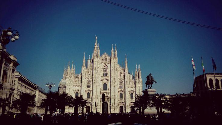 Duomo. Milan. History. Antique. Italy.