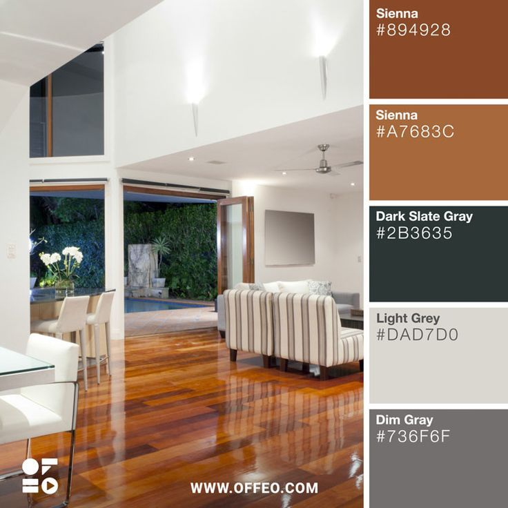 20 modern home color palettes to inspire you with images on interior color combinations for homes id=62305