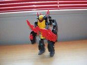 Hero Factory Transformers Dinobot Grimlock