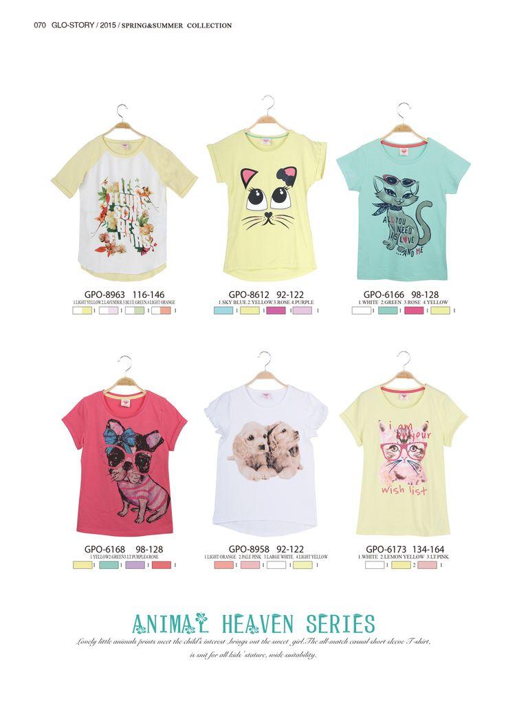 T-shirt for animal lovers  #glostory #fashion #forgirls #ss15 #cute #clothing #fashion #dress #tshirt #animaltshirt