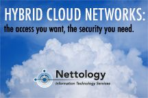 Hybrid cloud computing is becoming increasingly popular because businesses find the advantage of reduced equipment cost alluring. Also, with the mega-bandwidth requirements of today's applications, networks must be connected seamlessly and securely to cloud hosted facilities. Cloud computing hybrids can provide both. But cloud hosting alone can also leave you vulnerable. The Hybrid infrastructure can give you the access you want with the security you need…