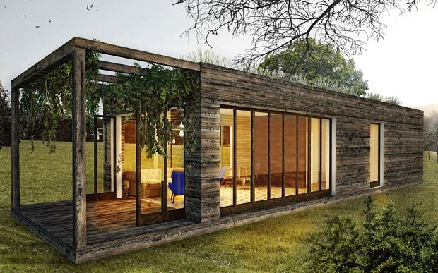 Are prefab boxes the answer to Britain's severe housing shortage? - Telegraph