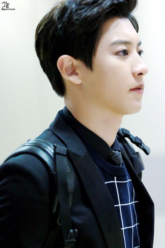 Chanyeol - 151009 Gimpo Airport, arrival from Sacheon  DAILYEXO