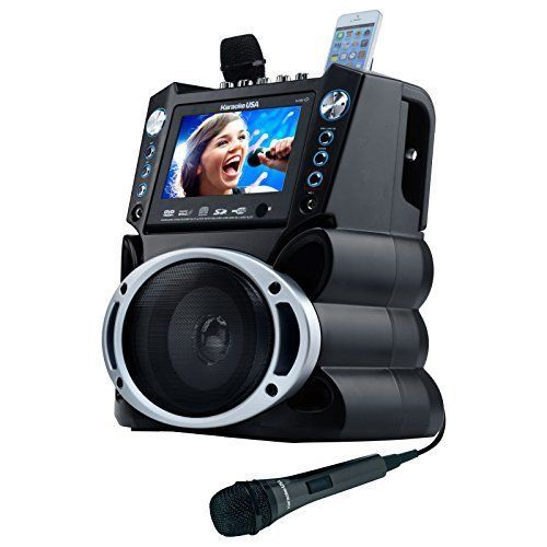 Karaoke Player System Color Screen DVD MP3G Songs Record Voice Remote Control #KaraokeUSA