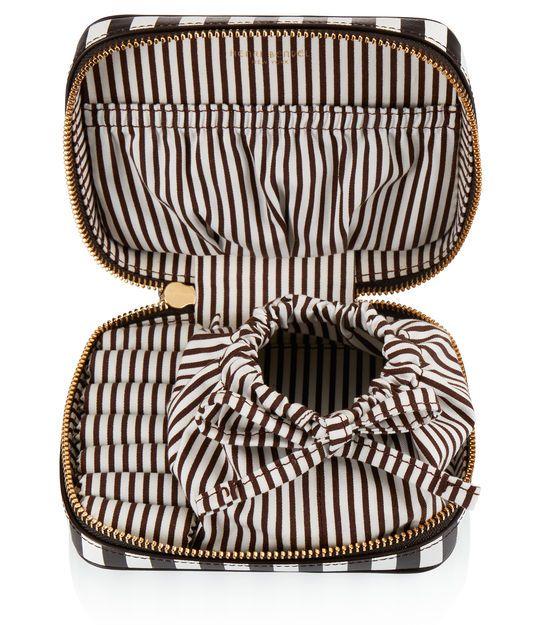 Centennial Stripe Travel Jewelry CaseCentennial Stripe Travel Jewelry Case