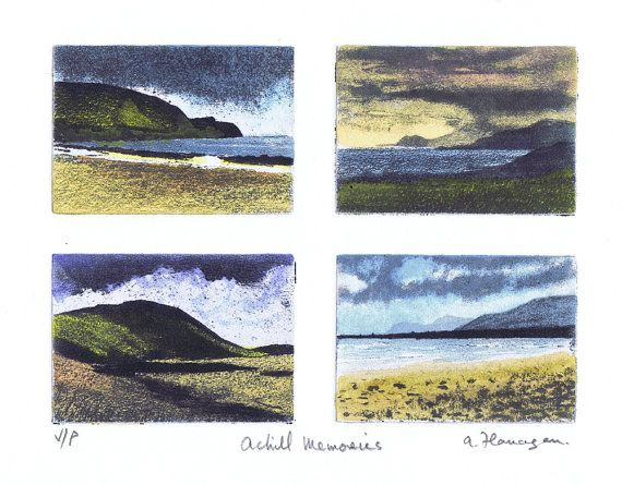 Achill Memories  Original Variable Edition by AidanFlanaganArt, €80.00