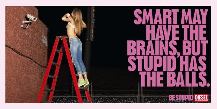 smart brains, stupid balls.