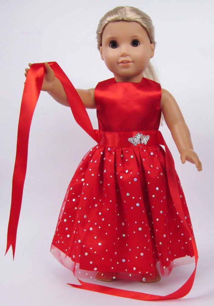 129 best images about a g doll christmas outfits on for American girl wedding dress