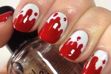 Η νέα τάση στα νύχια για το φετινό Halloween, είναι αυτή που σου δίνει την αίσθηση αίματος σ' αυτά. Κάντο και θα τους εντυπωσιάσεις όλους στα πάρτυ, α...