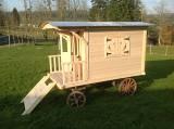 Construire ou installer une cabane ! Roulotte pour enfants Jardinage Calvados - leboncoin.fr