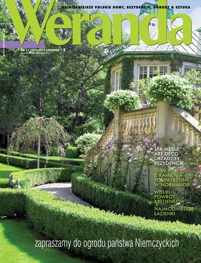 Okładka magazynu Weranda 11/2011 www.weranda.pl