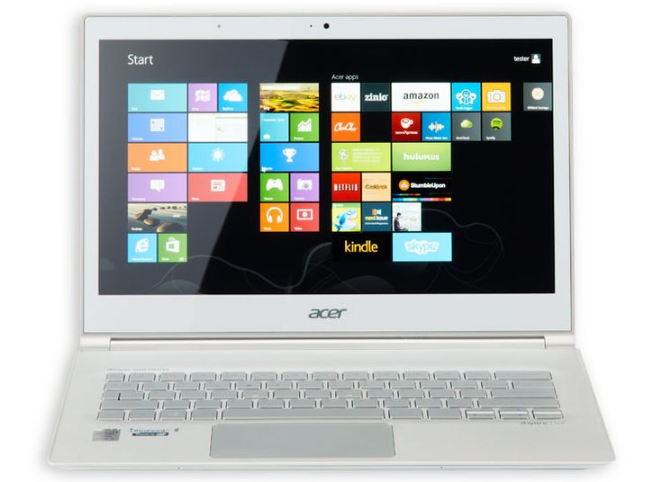 This is an image of Acer Aspire S7-392-6832 Ultrabook