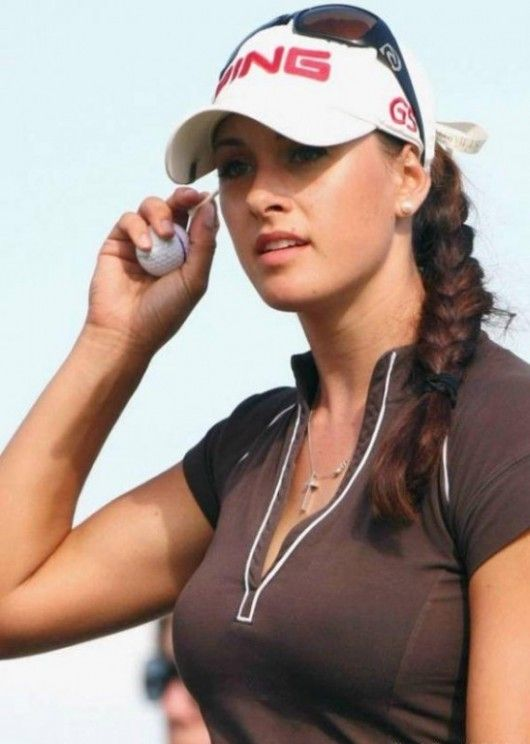 see? girls that golf are sometimes hot