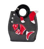Vintage Tote Fish Bag