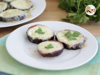Mini pizzas d'aubergine, Recette Ptitchef