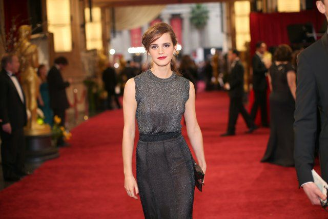 Emma Watson on the Red Carpet