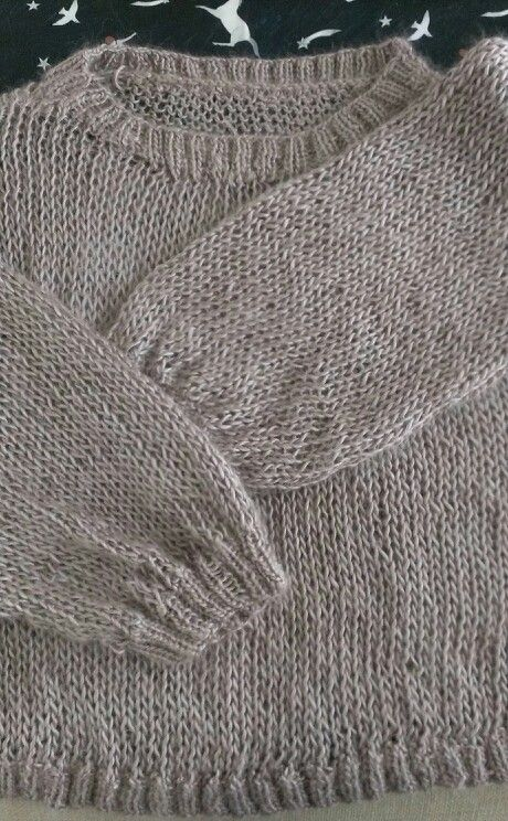 Knitting -Twisted sweet knit