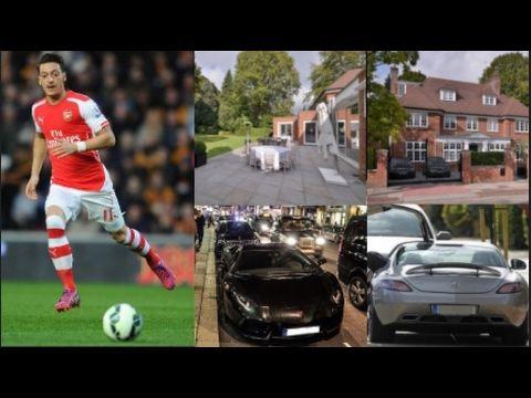 Mesut Ozil New London Home - Mesut Ozil Daily Car in London (Arsenal) - YouTube