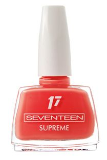Supreme | Seventeen Cosmetics Discover their improved formula and choose the colors that suit you best among a wide range of shades! #Seventeen #Cosmetics #nails #nailpolish