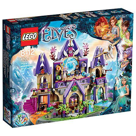 Buy LEGO Elves 41078 Skyra's Mysterious Sky Castle Online at johnlewis.com