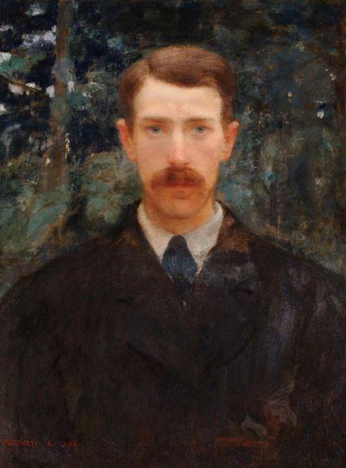Károly Ferenczy, Self-Portrait (1893)