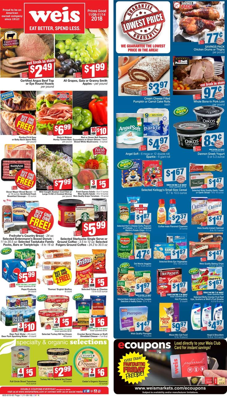 weis markets weekly circular flyer march 5