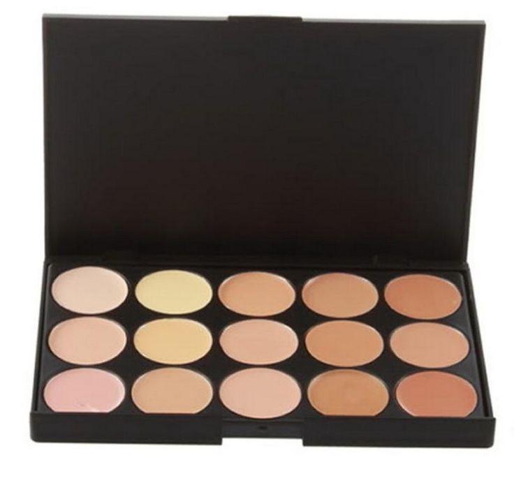 Professional 15 COLOR Concealer Facial Care Camouflage Makeup Palette