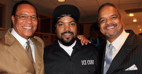 Louis Farrakhan and Ice Cube