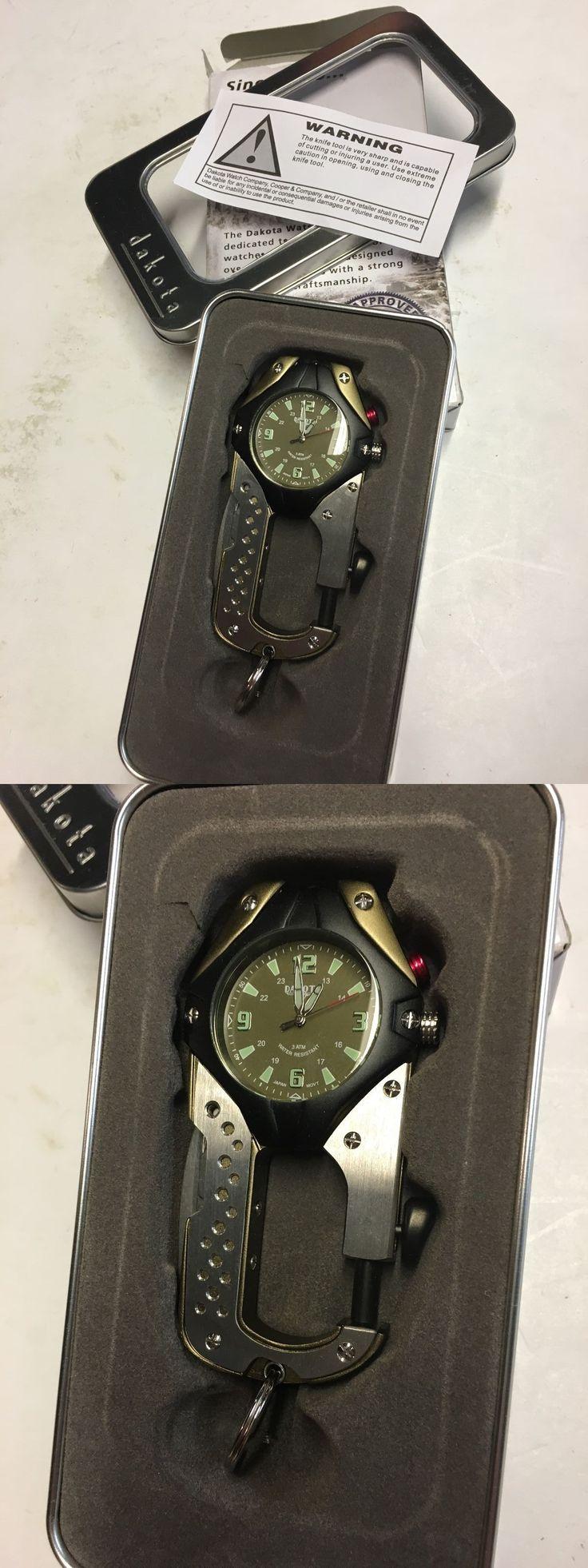 Other Pocket Watches 398: Dakota Digital Knife Clip Watch, 87630 -> BUY IT NOW ONLY: $54.27 on eBay!