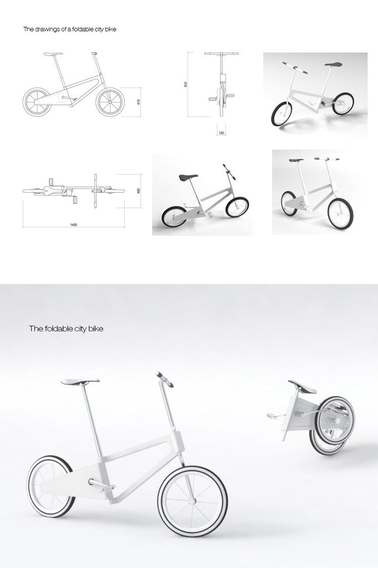 Folding bike by asta sad