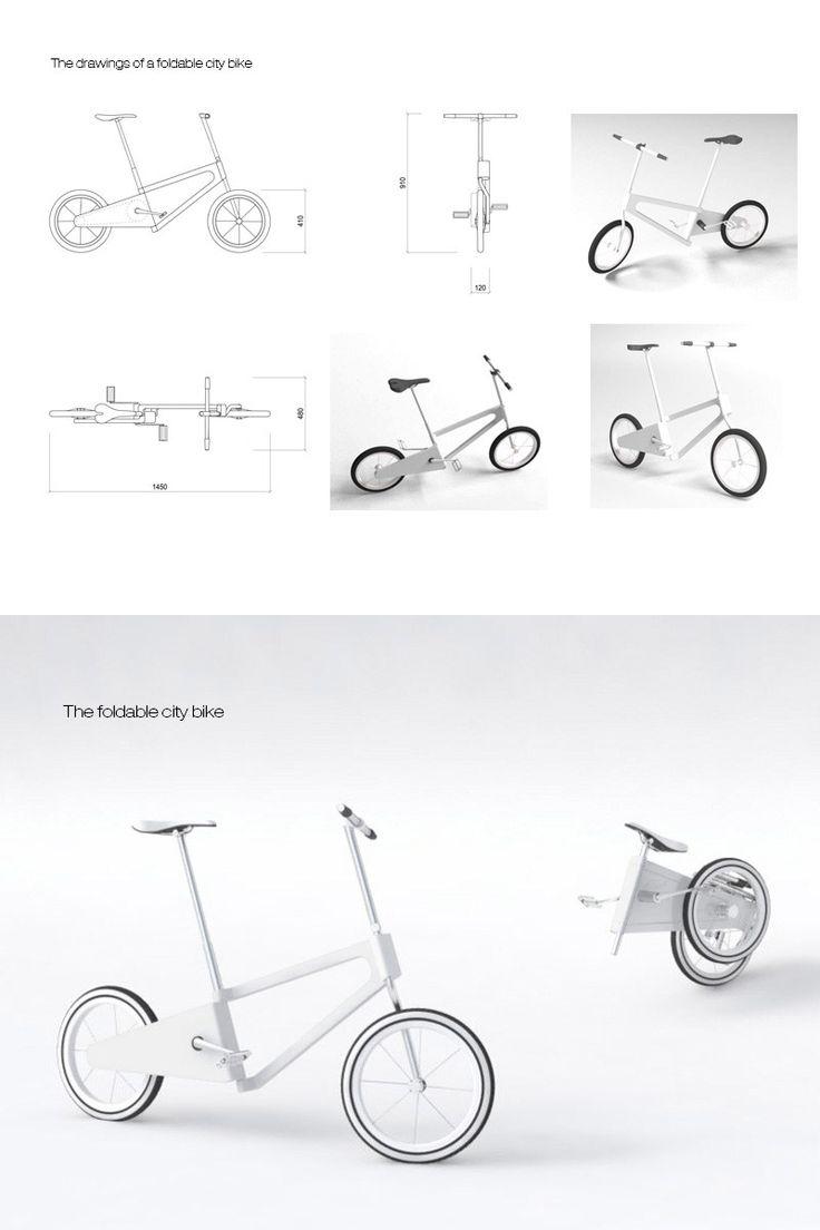Folding bike by asta sad