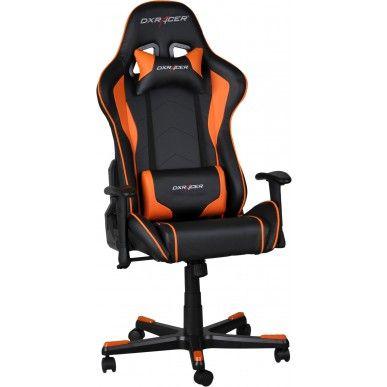 DXRacer Gamestoel - Formula-series - PU leder - Zwart/Oranje