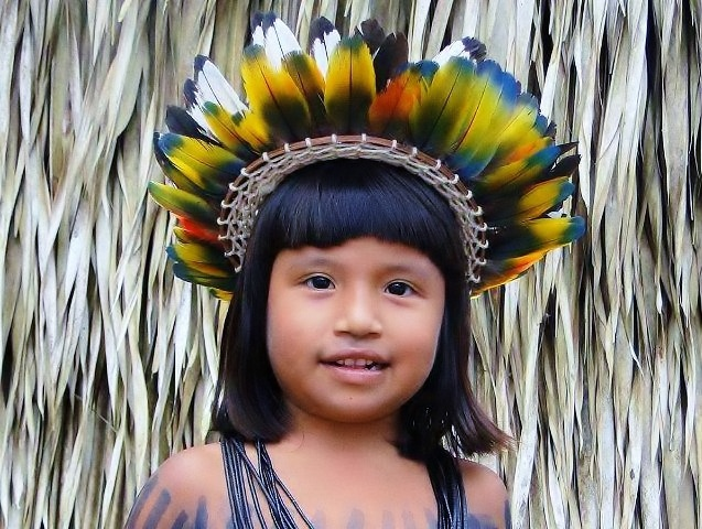 Native Indian girl from Brazil