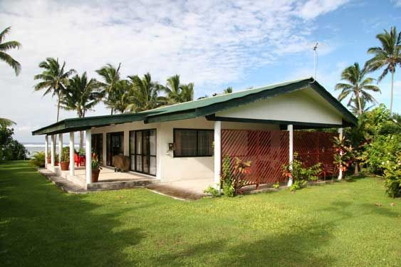 Here we come!!! Nana's Beach House Rarotonga, two bedroom self catering beachfront family home for rent in the village of Titikaveka through rentraro.com