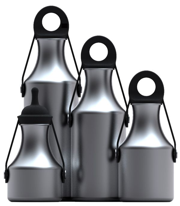 Promotional Water Bottles on Industrial Design Served