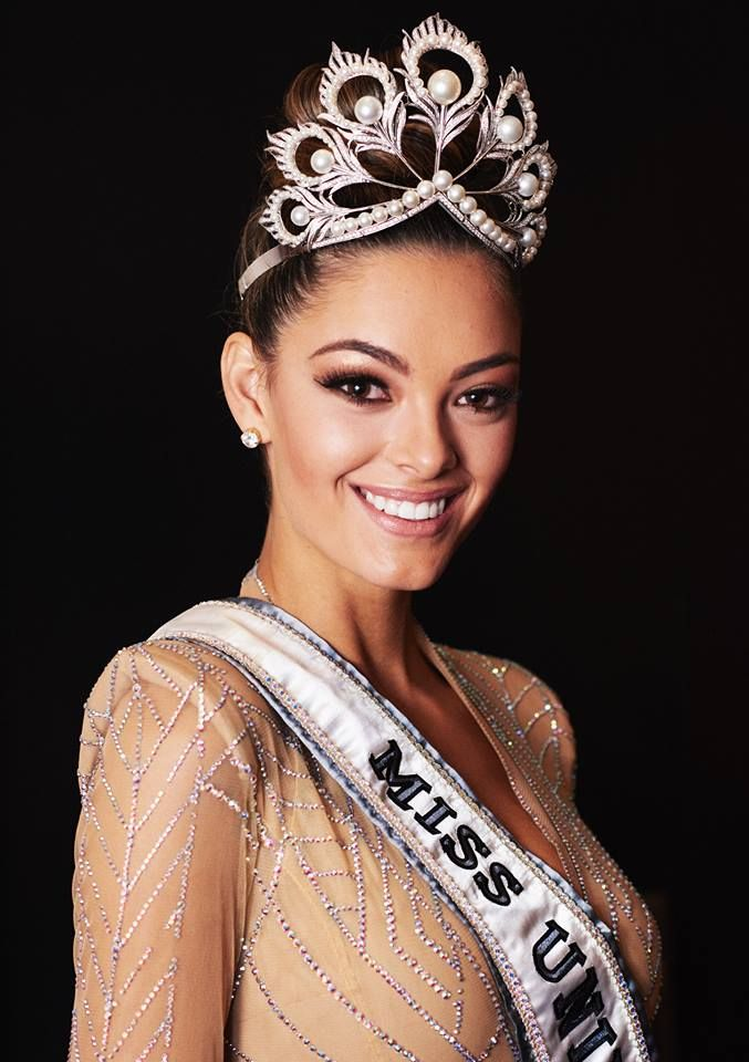 The new Miss Universe from South Africa, Demi-Leigh Nel-Peters !