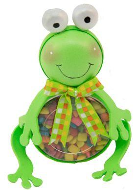 Regalo para niños / Fiestas infantiles / Dulceros / Dulces / Rana / Día del niño