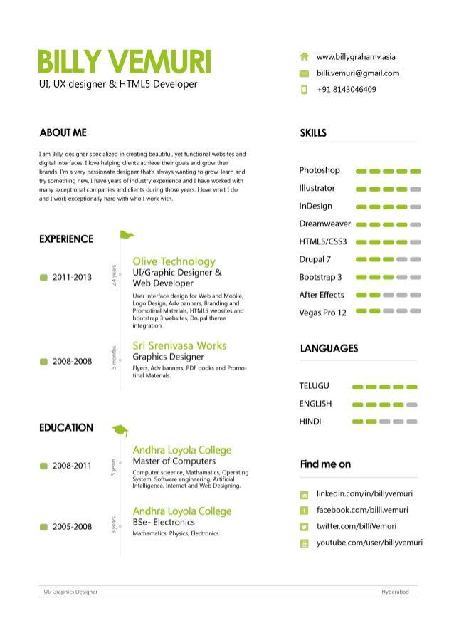 ui ux designer resume business ux ui
