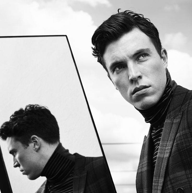 Rankin: Tom Hughes Portrait Hunger The Fearless.  One day he's going to be super famous.