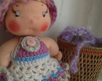 Waldorf pocket doll by MindfulAndMaking on Etsy