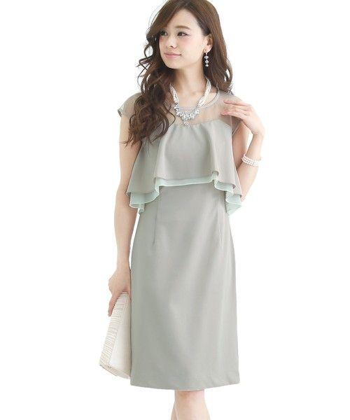 cf52a4423f261 ZOZOTOWN PourVous(プールヴー)のドレス「 結婚式・お呼ばれ対応 ...