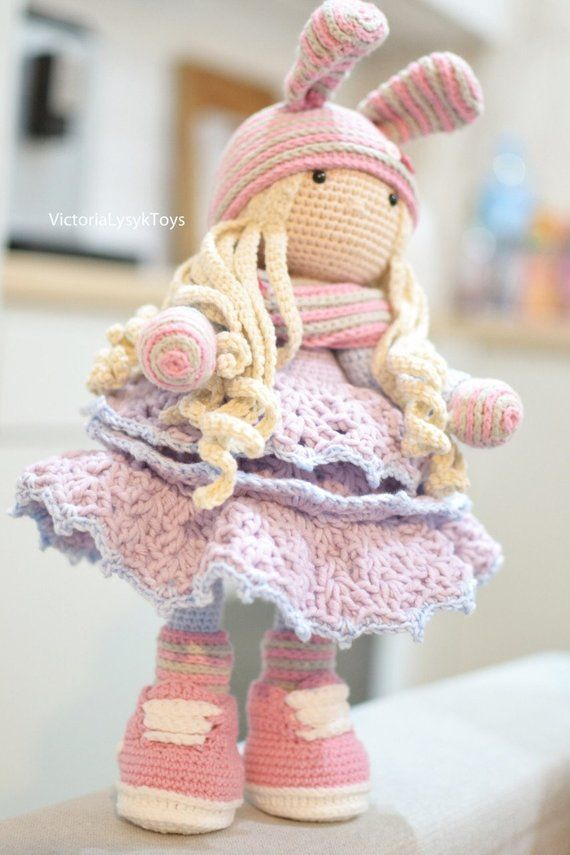 Bunny Tilda boy Knitting pattern by Simplytoys13 | 855x570