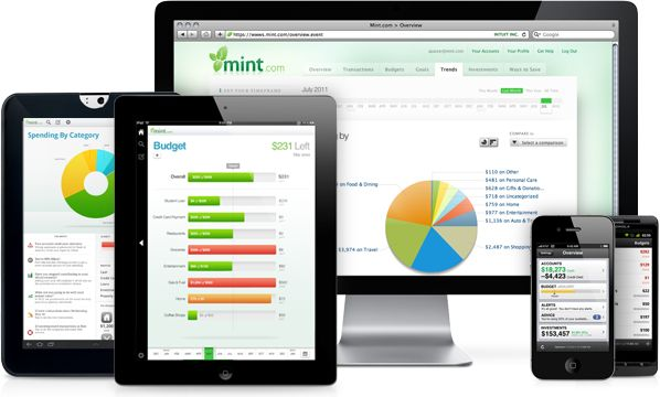 Mint brings all your financial accounts  together online or on your mobile device, automatically categorizes your transactions, lets you set budgets and helps you achieve your savings goals.