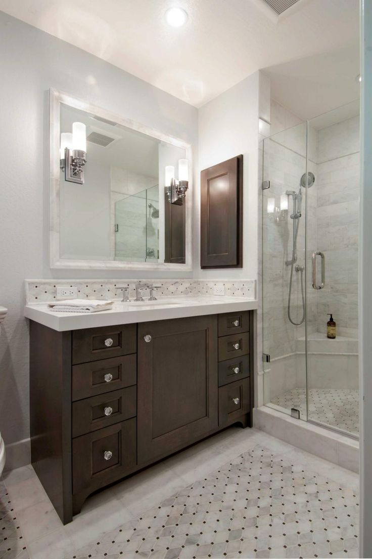 Remodel craftsman bathroom houston by jamie house design - Find This Pin And More On Bathroom Remodel By Amandatate86