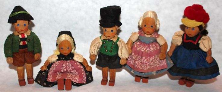 PLANET OF THE DOLLS:  A Little Crowd of Dolls by Lotte Sievers Hahn