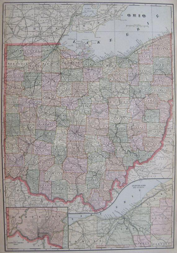 Best 25 Map of ohio ideas on Pinterest  Map of cleveland ohio