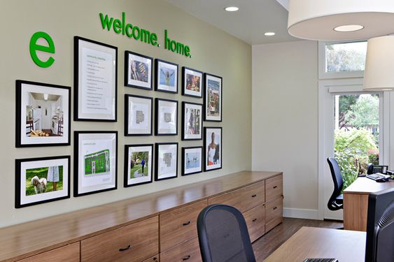 eaves Foster City leasing center display
