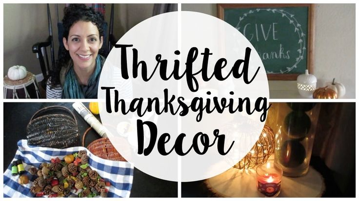 Thanksgiving Thrift Challenge & Home Tour