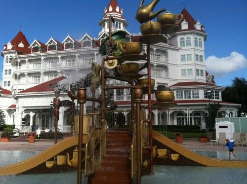 New Water Play Area At Disney World Grand Floridian Hotel Is A Hit